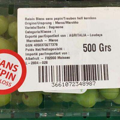 Raisin blanc sans pépin (Sans marque)