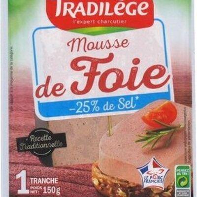 Mousse de foie -25% de sel en moins (Tradilège)