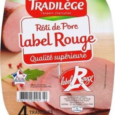 Rôti de porc label rouge 4 tranches (Tradilège)