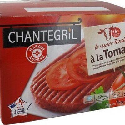 Steaks hachés à la tomate (Chantegril)