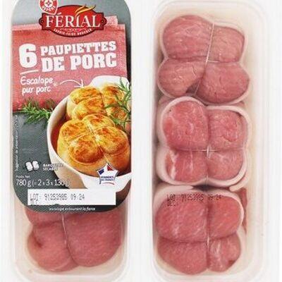Paupiettes de porc x 6 (Férial)
