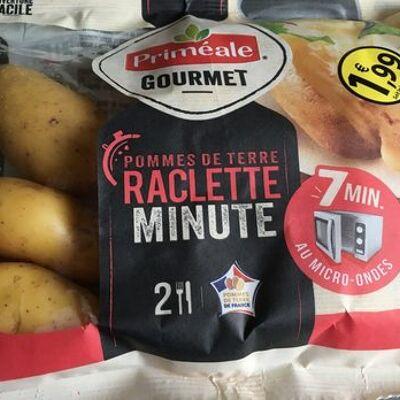 Pommes de terre raclette minute (Priméale)