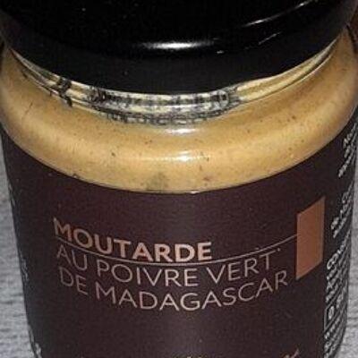 Moutarde au poivre vert de madagascar (L'origine du goût)