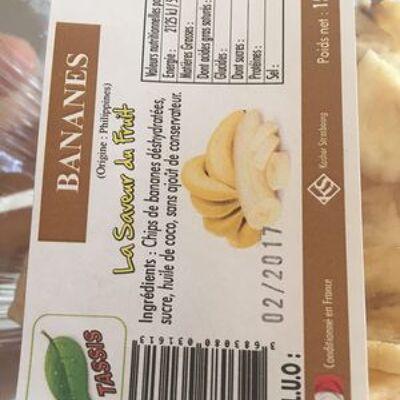 Bananes déshydratées (Tassis)