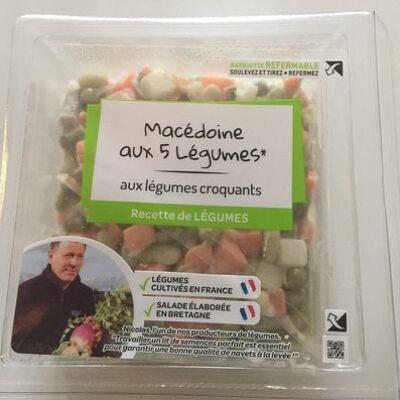 Macédoine aux 5 légumes - mayonnaise (Mix buffet)