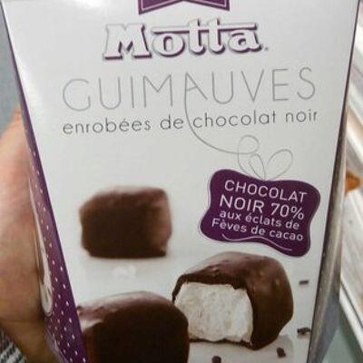 Guimauves enrobées de chocolat noir (Motta)