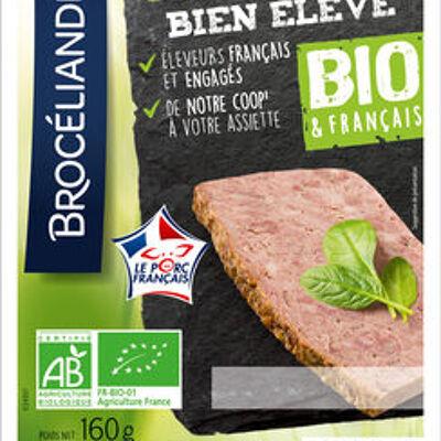 Le pâté de campagne bien élevé, bio & français, brocéliande (Brocéliande)