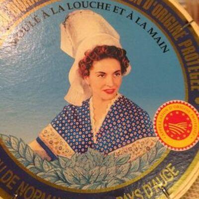 Camembert de normandie aop (Pays d'auge)