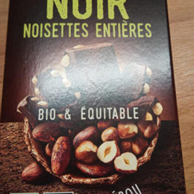 Noir noisettes entières (Alter eco)