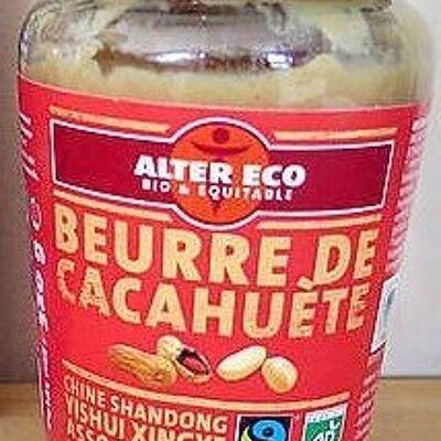 Beurre de cacahuètes (Alter eco)