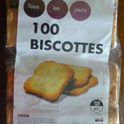 100 biscottes (Tous les jours)