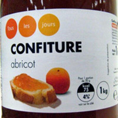 Confiture abricot (Tous les jours)
