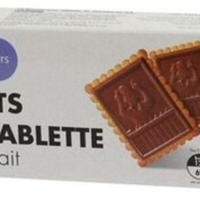 Biscuits avec tablette chocolat au lait (Tous les jours)