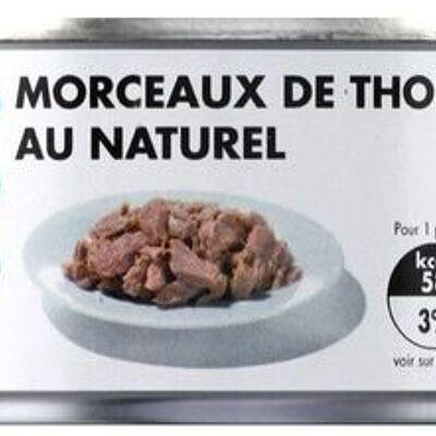 Morceaux de thon au naturel (Tous les jours)