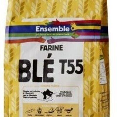 Farine de blé t55 (Ensemble)