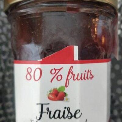 80% fruits fraise (La p'tite fabrique des alpes)