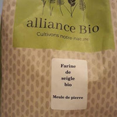 Farine de seigle bio (Alliance bio)