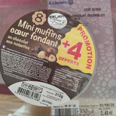 Mini muffins coeur fondant (Les délices des 7 vallées)