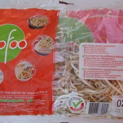 Pousses de soja barquette 400g (Wofoo)