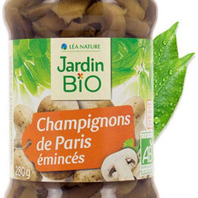 Champignons de paris émincés (Jardin bio)