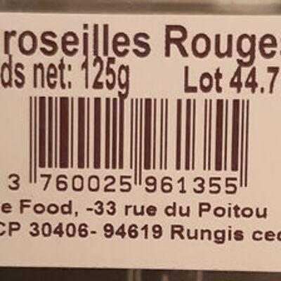 Groseille rouges (France food)