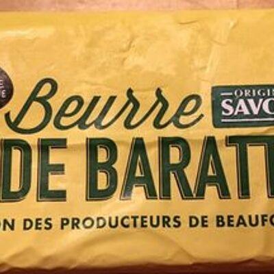 Beurre de baratte (Notre montagne)