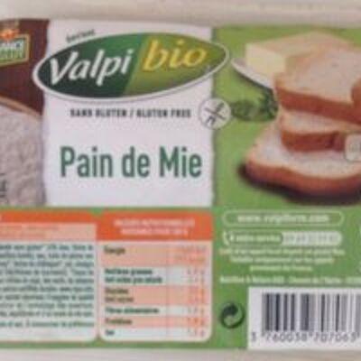 Pain de mie sans gluten (Valpiform)