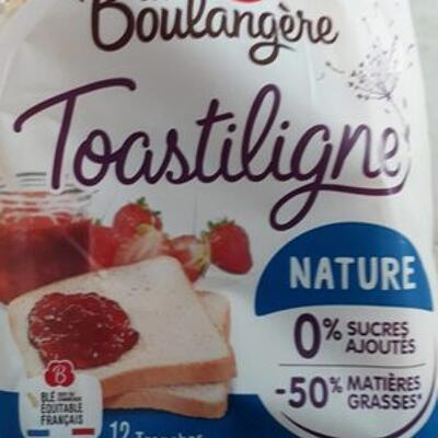 Toastiligne nature (La boulangère)