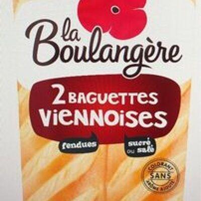 Baguettes viennoises (La boulangère)
