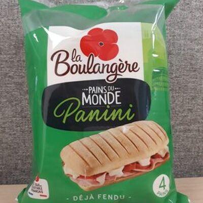 Pains du monde 4 pains panini (La boulangère)