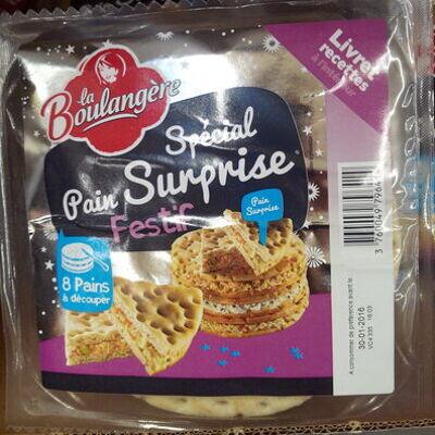 Spécial pain surprise festif (La boulangère)