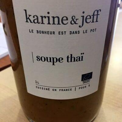 Soupe thaï (Karine & jeff)
