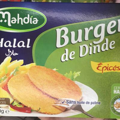 Burgers de dinde épicés (Mahdia)