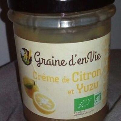 Crème de citron et yuzu (Graine d en vie)