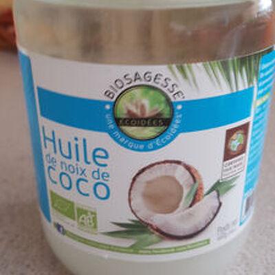 Huile de coco bio - 500 ml - ethnoscience (Ethnoscience)