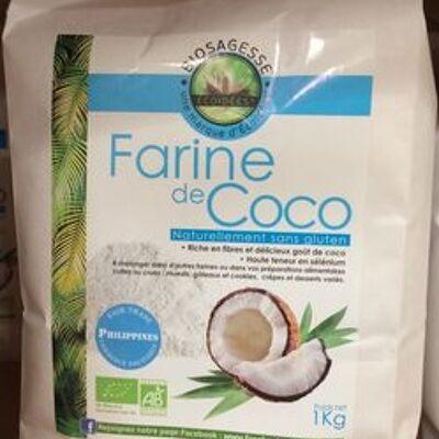 Farine de coco bio - 1 kg - ethnoscience (Ethnoscience)