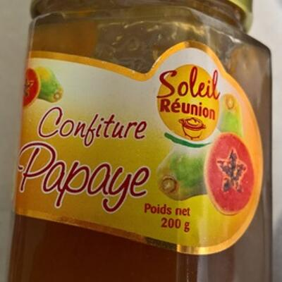 Confiture papaye (Soleil réunion)