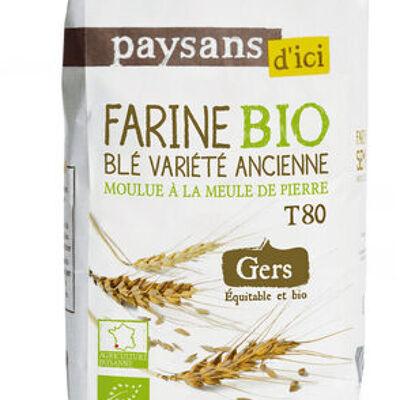 Farine de blé variété ancienne (Paysans d'ici)