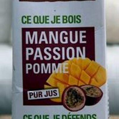 Pur jus mangue passion pomme (Ethiquable)