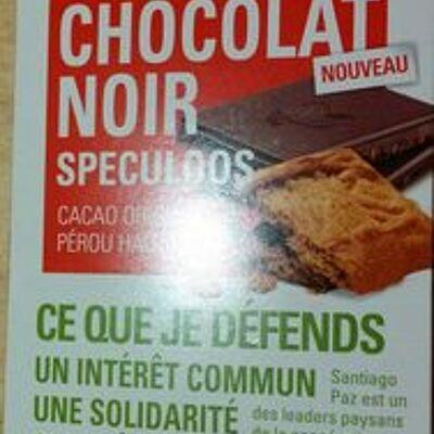 Chocolat noir speculoos (Ethiquable)