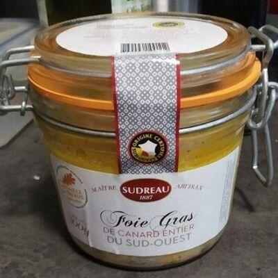 Foie gras de canard entier du sud-ouest (Sudreau)