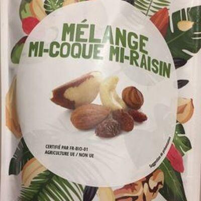 Mélange mi-coque mi-raisin (Pronatura)
