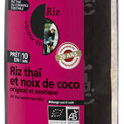 Melange thai riz noix de coco (Autour du riz)