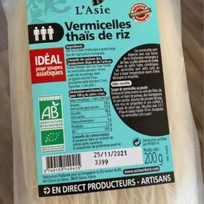Vermicelles thaïes de riz (Autour du riz)