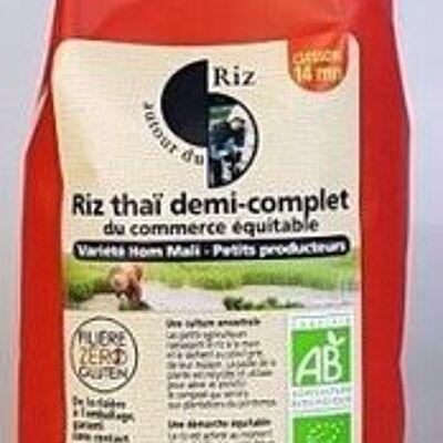 Riz thai demi-complet (Autour du riz)