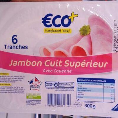 Jambon cuit superieur (Eco+)