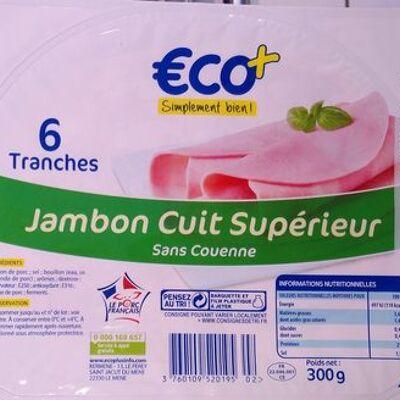 Jambon cuit supérieur (Eco+)