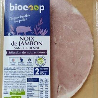 Noix de jambon sans couenne (Biocoop)