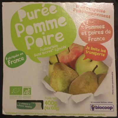 Purée pomme poire (Biocoop)