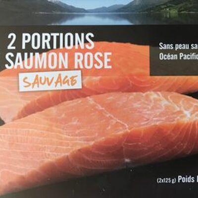 2 portions de saumon rose sauvage (Picard)